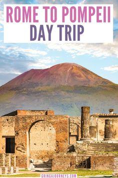 European Travel Tips, Italy Travel Tips, Rome Travel, Travel List, Cinque Terre, Mount Vesuvius Pompeii, Pompeii Ruins, Pompeii Italy, Places To Travel