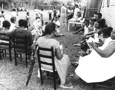 'FREEDOM SUMMER' 1964 MISSISSIPPI   | Mississippi Freedom School in session.   Freedom Schools were temporary, alternative free schools for African Americans mostly in the South. They were originally part of a nationwide effort during the Civil Rights Movement to organize African Americans to achieve social, political and economic equality in the United States.
