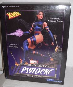 Marvel Premier Collection X-Men PSYLOCKE Diamond Select Toys Statue MIB limited!