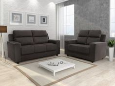 [MagazineLuiza] CORRE! Conjunto de sofá 2 e 3 lugares Chenille Mobi - R$ 474,91
