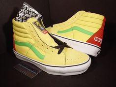 Bad Brains 'Supreme' Coptic Times vans, in yellow