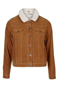 PETITE Cord Borg Western Jacket