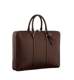 Louis Vuitton's Porte Document Voyage GM en cuir Nomade moka.