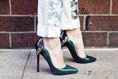drooling over CO.me blogger, Leandra Medine's, killer heels