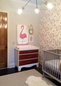 Flamingo Decor in a