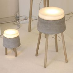 lamps by Renate Vos