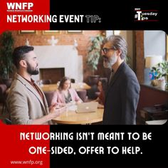 Networking Isn't Meant to be One-Sided, Offer to help - Wherever or however you do it, networking isn't meant to be one-sided. It should provide value for both parties at some point. Look for ways to help your network, and they'll readily want to help you in return. #networkingevents #businessevents #business Business Events, Business Networking, Training Classes, One Sided, Growing Your Business, Business Opportunities, Monday Motivation, Meant To Be, Parties