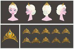"""FROZEN"" - Elsa concept art by Brittney Lee"