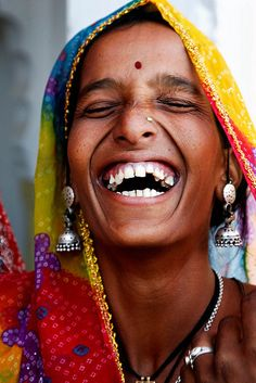 Joy & Laughter looks the same throughout the world.