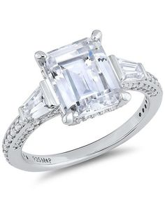22e1d58d7 Timeless Aspiration Emerald Ring, made with Swarovski Zirconia | Myia  Passiello | https:/