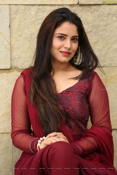 Check Out Glam Stills of Heroine Amrita Acharya in Red Dress 10 Most Beautiful Women, Beautiful Girl In India, Beautiful Blonde Girl, Beautiful Girl Photo, Beautiful Smile, Beauty Full Girl, Cute Beauty, Beauty Women, Most Beautiful Bollywood Actress