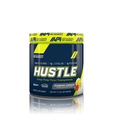 API Hustle pre-workout contains some of the most potent muscle building ingredients for intense focus and skin-tearing pumps. Learn more here at Second to None! Pre Workout Supplement, Pumping, Hustle, Nutrition, Hustle Dance