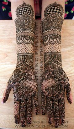 Nalini's Karva Chauth henna 2012 © NJ's Unique Henna Art   Flickr - Photo Sharing!