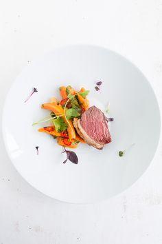 Picanha - Gegrillter Tafelspitz mit Papaya-Koriander-Salat