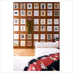 GAP Interiors - Decorated wardrobe doors - Picture library specialising in Interiors, Lifestyle & Homes
