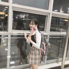 Korean Girl, Asian Girl, Age Of Youth, School Looks, School Uniform, Ulzzang Girl, Aesthetic Girl, Japanese Girl, Streetwear Fashion