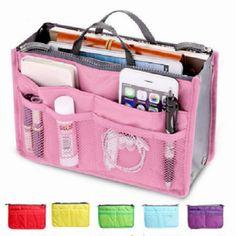 Home Storage & Organization Realistic Flamingo Hot Travel Barrel Shape Cosmetic Bag Women High Capacity Nylon Beauty Makeup Bags Wash Baging Makeup Bathroom Organizer Sufficient Supply