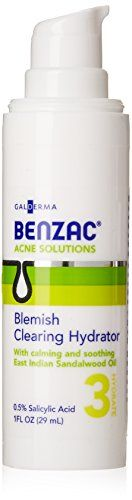 Benzac Blemish Clearing Hydrator 1 Ounce * You can find out more details at the link of the image.