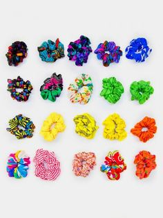 Scrunchies were the original trend epidemic . With its popularity peak in the 1980's and 1990′s scrunchies took over the world
