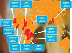 Nel 2012 l'UNICEF ha distribuito i 6,1 milioni di euro accreditati dall'Agenzia per le Entrate (riferiti alle dichiarazioni dei redditi del 2010) in 12 paesi di Asia e Africa. http://cinquepermille.unicef.it/cosaAbbiamoFatto.php