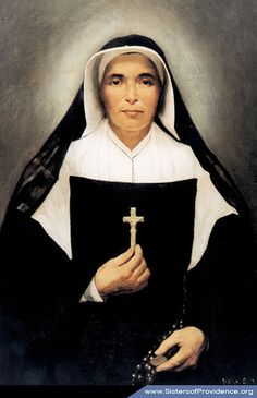 Saint Mother Theodore Guerin a true pioneer of the Mid Western Wilderness!