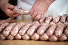 How to Make Your Own Cajun Boudin Sausage This boudin sausage recipe is made with pork, seasoning, g Creole Recipes, Cajun Recipes, Meat Recipes, Cooking Recipes, Haitian Recipes, Boudin Sausage, Cajun Sausage, Chicken Sausage, Cajun Boudin Recipe