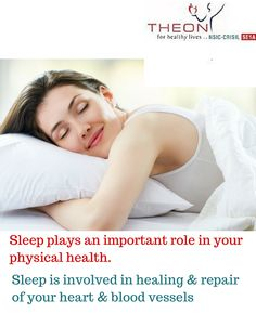 Sleeping plays a very important role in good physical health. #theon_pharmaceuticals #theon_pharma