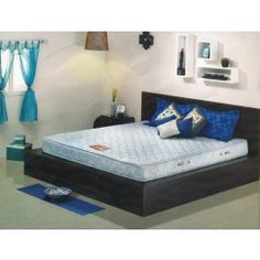 Kurl-On Marvel 5inch Mattress Incorporating numerous high-tensile Bonnell springs, Marvel nestles against the contours of the body, giving it the support it needs. Moreover, with a high density PU Foam sidewall encased in poly viscose tapestry, it gives you an unsurpassed support even at the edges, maximizing the total sleeping surface.