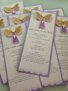 Quilling, First Communion Party, Birth, Place Card Holders, Baby Shower, Entertaining, Cards, Girl Baptism, Amelia