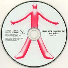 Nav Katze - Never Mind The Distortion Cd Cover, Music Covers, Cover Art, Album Covers, Center Labels, Pochette Album, Record Art, Album Cover Design, Retro Futuristic