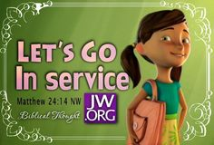 Love this...important to help our children enjoy serving Jehovah