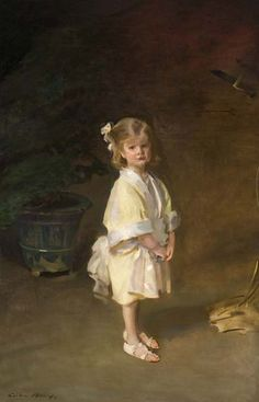 The Athenaeum - Portrait of Harriet Sears Amory (Cecilia Beaux - )