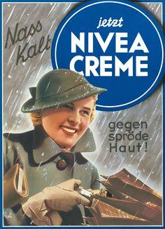 NIVEA Retroanzeige - 1936. #nivea #retro