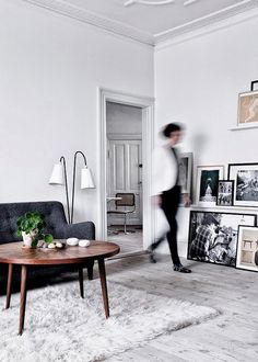 my scandinavian home: The stunning home of stylist Nathalie Schwer + give-away winner announcement Le Living, My Living Room, Home And Living, Interior Exterior, Interior Architecture, Room Interior, Living Room Inspiration, Interior Inspiration, Design Inspiration