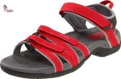 Teva Tirra W`s 9034 Sandales - Femme - Rouge (Red) - 4 UK (37 EU) - Chaussures teva (*Partner-Link)