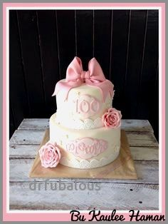 47 Elegant 100th Birthday Cake Decorating Ideas