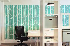 Bring a fresh look in your home or office with Scandinavian stencils. Scandinavian design is about simple forms and delicate colors, often also