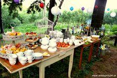 9. Forest Wedding,Outdoor buffets,Sweet buffet,Sweets / Leśne wesele,Słodki bufet, Anioły Przyjęć