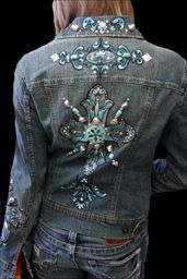 Let me create a hand painted denim jacket or jeans just for you!