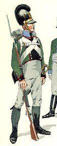Bavarian 7th Light Infantry Battalion in 1808-1811