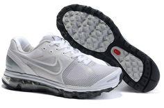 Vente Nike Air Max 2010 Mesh Pour Homme Chaussures De Course Blanc Noir Gris Factory Store