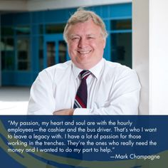 Even after a 32-year career, Mark Champagne continues to help UC Davis student workers.