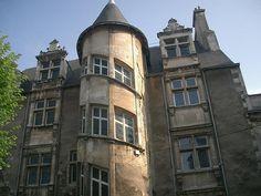 Hôtel de Beaucé, époque Renaissance, Poitiers, Vienne, France