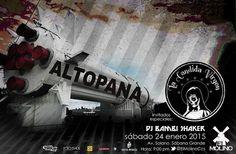 """Cresta Metálica Producciones » El Molino presenta a las bandas: """"ALTOPANA & LA CANDIDA VIRGEN"""" (Caracas) // 24 Enero 2015"""