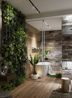 modern-master-bathrooms-with-vertical-garden