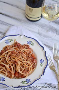 pici con ragù di moscardini e pecorino by Elisakitty's Kitchen, via Flickr