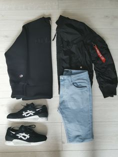 #Outfit #theofficialoutfits #Outfitgrid #grid #outfitstreetwear #streetwear #heatradar #alphaindustries #champion #asics #teamasics #asicsgelrespector #alphabomber #denim #streetwearoutfit #blackandwhite #blackandred #blackandblack #followme #hype #hypebeast