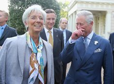 Christine Lagarde Photo - The Prince Of Wales Hosts A Reception For Delegates Of The Global Investment Conference Over 50 Womens Fashion, Fashion Over 50, Lagarde Christine, Orange Pencil Skirts, Helen Mirren, Prince Of Wales, Prince Charles, Parisian Style, Outfit