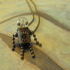 Robot Pendant by Ittybots