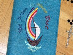 Weiteres - Gotteslob - Einband ♥ Mit Jesus in einem Boot ♥  - ein Designerstück von 1000und2Naehte bei DaWanda